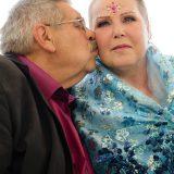 Eva mit Ehemann Ernst